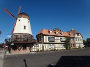 Solvang Windmill and Surroundings