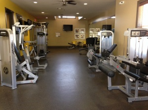 Our new gym