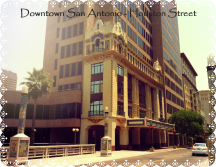Downtown San Antone, as the locals call it.