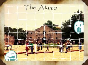 The Alamo, the city's landmark