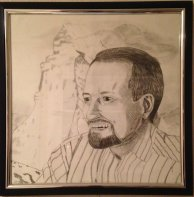 My drawing for my Dad's 50th Birthday