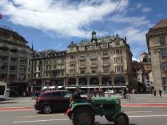 Tractor Parade, Schwanenplatz (Swans Square), Lucerne
