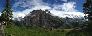 Panorama of the Jungfrau massif