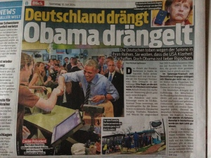 Yes, the Swiss are interested in what's happening politically in Austin ;-)