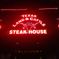 Texas Land & Cattle Steak House - always a good address to get into a meat coma.