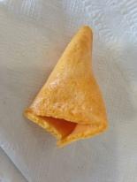 My empty fortune cookie... (still yummy, though ;o)