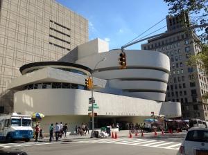 Solomon R. Guggenheim Museum - quite a view.