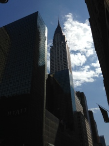 My beloved Art Deco Chrysler Building.