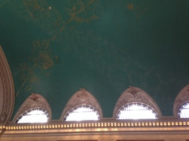 Detail of ceiling at Grand Central Terminal