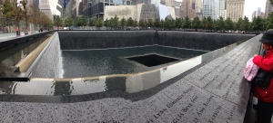 9/11 Memorial - the site always left me somewhat uneasy