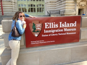 Immigration Museum on Ellis Island - naturally I had to see that
