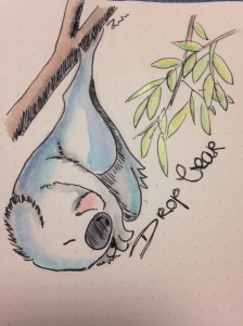 A drop shaped and rather tame version of the infamous Australian drop bear.