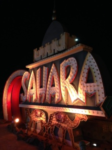 The Sahara Neon Sign.