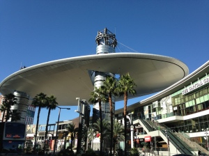 The Fashion Show Mall Space Ship.