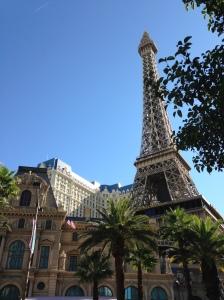 Paris by day. Paris, Las Vegas, of course.