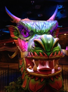 The MGM's (if I remember right) massive Chinese Dragon.