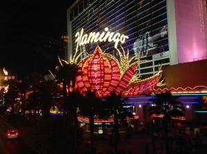The Flamingo; the oldest resort on the Strip still in operation today.