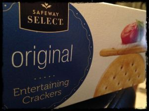 Not that entertaining Entertaining Crackers.