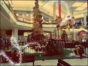 Polar Express at the shopping mall.