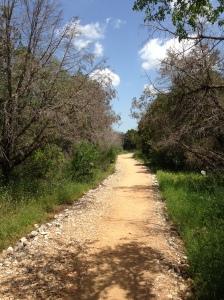 My average running trail.
