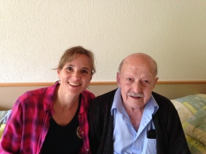 My and my grandpa back in July 2014.