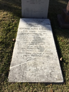 Tombstone from around 1870.
