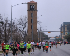 Austin Bell Tower - well known from my own runs.
