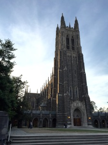 Duke University Cathedral.