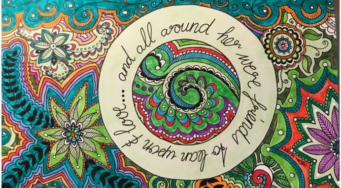 Zen Doodle April