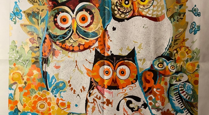Owl Painting II