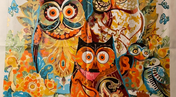 Owl Painting III