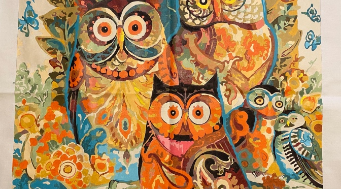Owl Painting IV